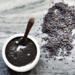 tahini made from black sesame seeds